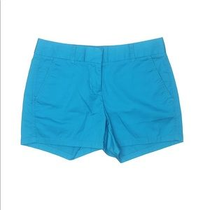 3/$40 J.Crew Blue Chino Shorts 0